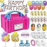 Best Balloon Pumps - 158 Pcs Balloon Pump Electric, Portable Balloon Inflator Review