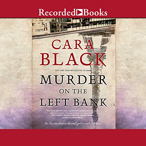 Murder on the Left Bank cover art