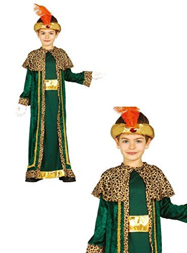Disfraz rey Baltasar infantil 10-12 años