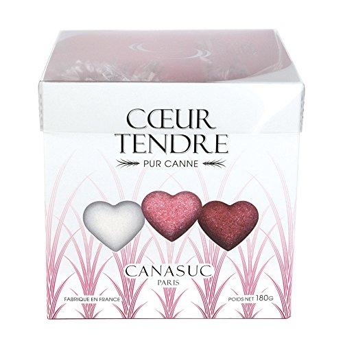 CANASUC ( カナスック ) ラッピング ハートシュガー ボックス / レッド・ピンク・ホワイト