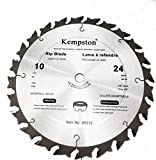 Kempston 99312 10-Inch by 24 Tooth Industrial Rip Thick Kerf...