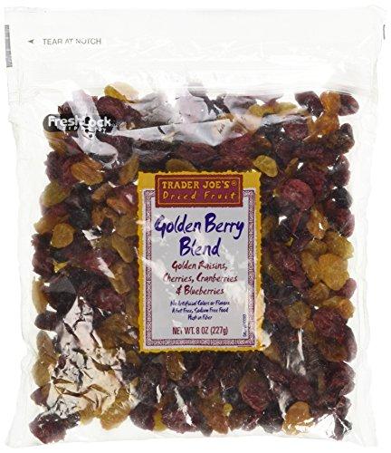 Trader Joes Golden Berry Blend Dried Fruit