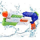 infinitoo Pistolet à Eau pour Enfants Puissant Jet d'eau d'une portée maximale...