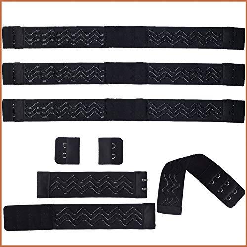 3 Pcs Adjustable Elastic Straps for Wigs, SMILCO Adjustable Elastic Band for Wigs with hooks Silicone Coating Non-slip Hairband Hook