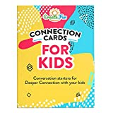 101 Thoughtful Conversation Starter Connection Cards for Kids and Parents - Questions for Family Time, Deep Conversation, Car Road Trips and Travel, Emotional Growth and Relationship Development