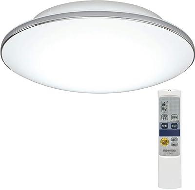 アイリスオーヤマ LEDシーリングライト 調光タイプ ~14畳 メタルサーキットシリーズ モールフレーム