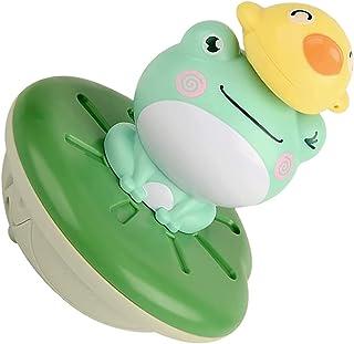 TOYANDONA 1 Set Spray Water Bath Toy Animal Rotating Spray Water Squirt Toy Bathing Floating Toy for Baby Kids