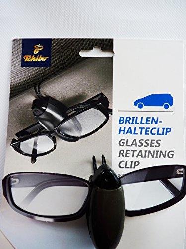 Tchibo TCM Brillenhalter Sonnenbrillenhalter Zum Anklemmen an die Sonnenblend
