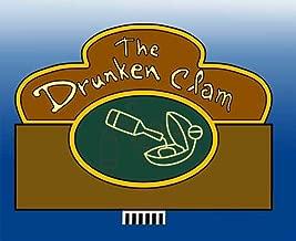 drunken clam neon sign