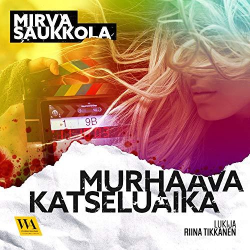 Diseño de la portada del título Murhaava katseluaika