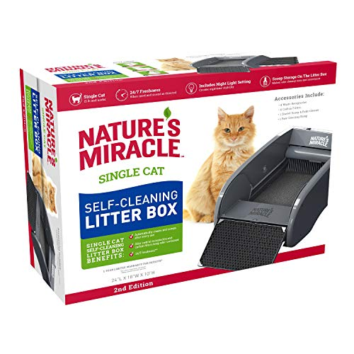 Nature's Miracle Nature's Miracle Single-Cat Self-Cleaning Litter Box