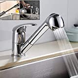 <span class='highlight'><span class='highlight'>SLTYSCF</span></span> Faucet Kitchen Sink Pull Out Mixer Taps Brass Spray Single Lever Swivel Spout Bathroom Basin Faucet