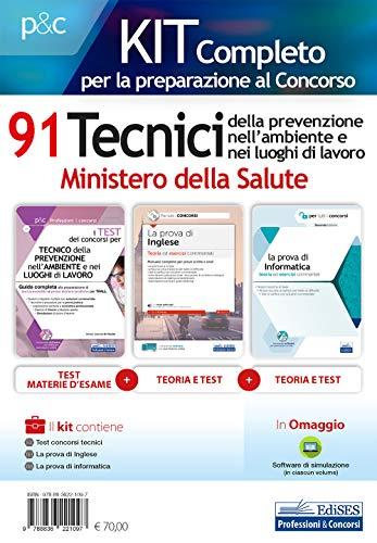 Kit 91 tecnici prevenzione ministero salute