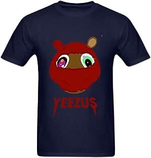 Men's Yeezus Kanye Reaper Skull West Tour T-Shirt