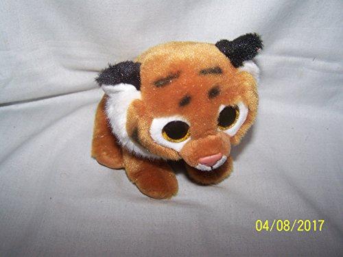 TY - Classics Tiggs, tigre de peluche, 15 cm, color marrón