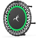 Trampolin faltbar Fitness-Trampolin Adult Mini-Trampolin, Fitness-Trampolin, ruhig und stabil...