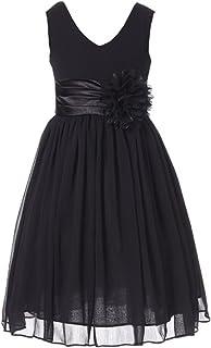 Black and White Little Girl Dresses