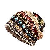 Sombrero, Tocado Moda Mujer sin ala de Color sólido Malla Transpirable Sombrero, Ropa Zapatos y Accesorios (café One Size)