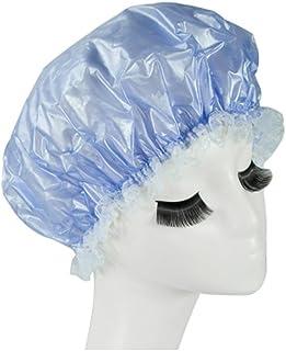 Reusable Waterproof Greaseproof Shower Cap Spa/Bathing Cap Cooking Hat #41