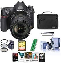 $2796 » Nikon D780 FX-Format DSLR Camera with AF-S NIKKOR 24-120mm f/4G ED VR Lens - Bundle with 64GB SDXC Card, Camera Bag, 77mm Filter Kit, Cleaning Kit, Capleash II, Card Reader, Pc Software Package