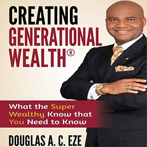 Creating Generational Wealth audiobook cover art