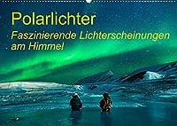 Polarlichter - Faszinierende Lichterscheinungen am Himmel (Wandkalender 2022 DIN A2 quer): Dieser Kalender zeigt das wunderbare Naturschauspiel von Polarlichter! (Geburtstagskalender, 14 Seiten )