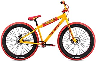 SE Fat Ripper 26 BMX Bike Yellow Mens Sz 26in