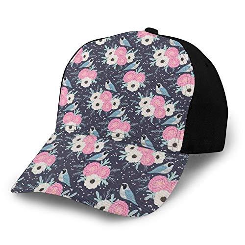 Gorra de béisbol para hombres y mujeres, ligera para deportes al aire libre, protección UV en verano de 22.4-23.7 pulgadas, Color3., S-M