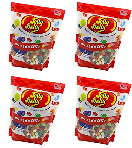 Jelly Belly Jelly Beans, 49 Flavors, 2 Pound (Pack of 1)
