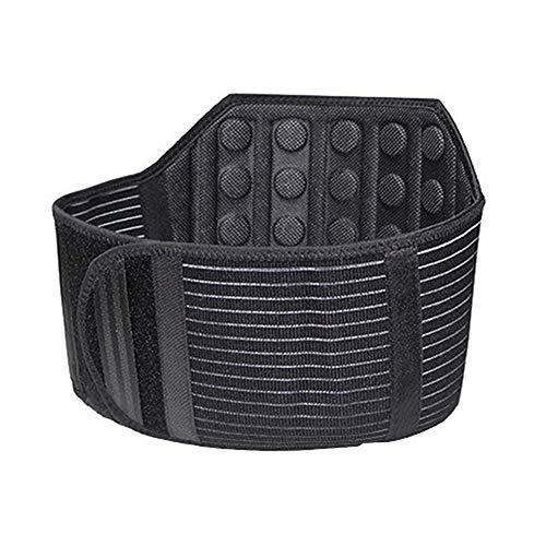 ZFF 21 Imanes Soporte Lumbar Cintur贸n Cintur贸n Ajustable Espalda Baja Dolor Alivio...