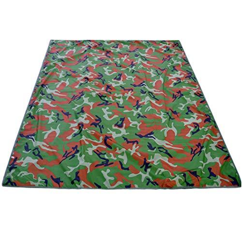 Preisvergleich Produktbild LHY TRAVEL Picknickdecke 200 * 200 cm Outdoor Reise Camouflage Matten Camping Grill Matte Strand Decke Camping Matte Geeignet FüR Park Rasen Spielen