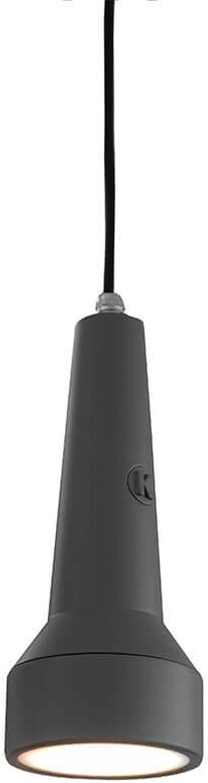 Karman torcia led, lampada a sospensione ,in tecnopolimero SE155-AG