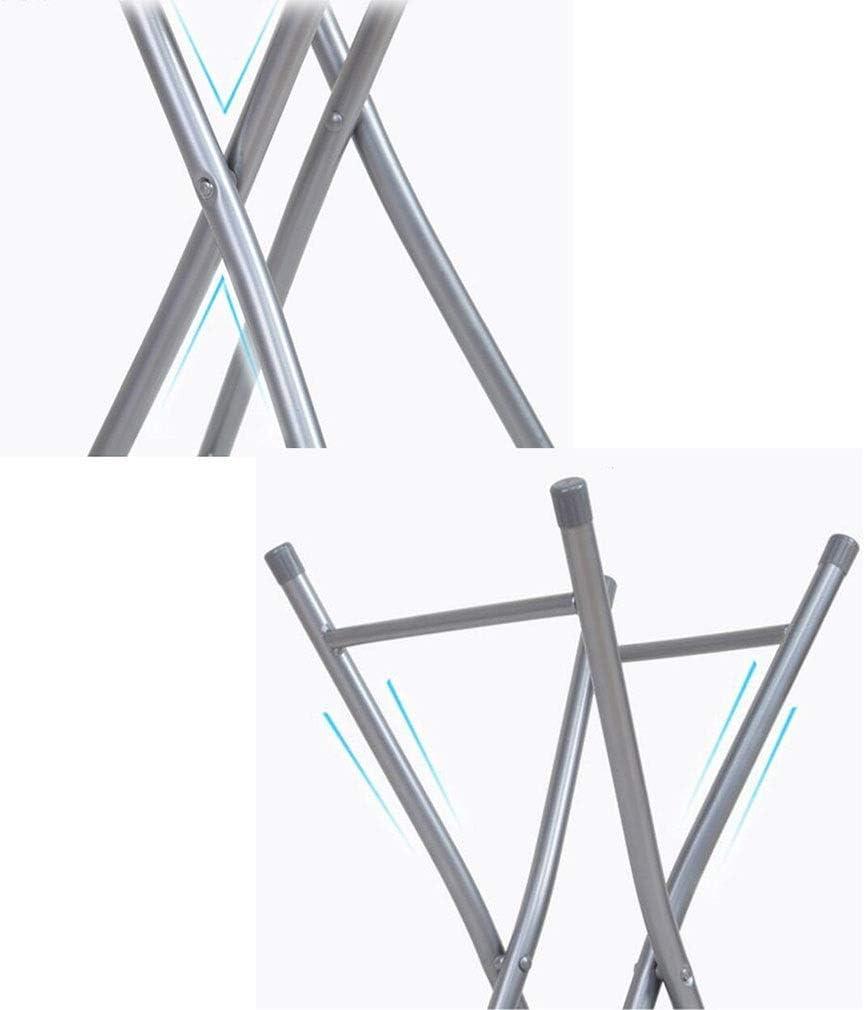 YCSD Tabouret Pliant Portable Simple Intérieur Et Extérieur Chaise Pliante Accueil Petit Banc, Pack-2 (Color : Blue) Blue