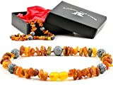 AmberPetCare Bernsteinkette für Hunde und Katzen aus Roh Baltischer Bernstein (22)