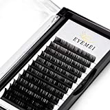 Eyelash Extensions D Curl 8-15mm 0.20mm Thickness Semi Permanent Natural Faux Mink Individual Lashes Extension Supplies Professional Salon Use Mixed Tray by EYEMEI (0.20-D-MIXED) …