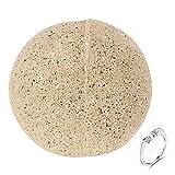Anillo de Plata esterlina con baño de Bomba for el Amante Rose Esencial de aromaterapia Baño de Aceite de la Bomba de la Bola hidratante SPA