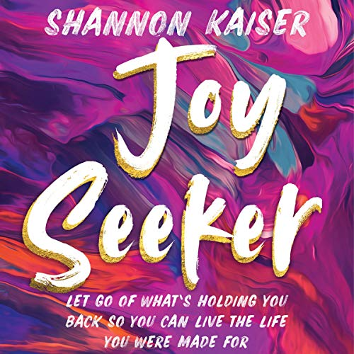 Joy Seeker audiobook cover art