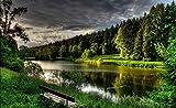 1000 Piezas De Rompecabezas Para Adultos Alemania Altdorf The Forest River Shore Paisaje Juguete Educativo Para Niños Y Adultos Ensamblaje De Madera