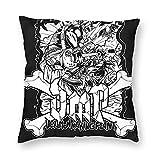 HUbGO Custom DMP kinnikuman Home Decoration Square Pillow Case 16'x16'