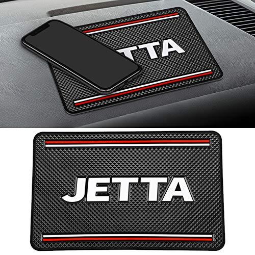 Almohadillas Adhesivas Antideslizantes para AutomóViles, con Logotipo, Alfombrillas Antideslizantes, para VW Jetta Golf 4 5 6 POLO Passat B5 B6 Touareg, Lavables, Reutilizables, Soporte Para TeléFono