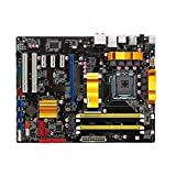 RKRLJX Placa Base de Escritorio Apta para fit for P5Q Turbo LGA 775 DDR2 USB2.0 16GB Core 2 Duo Quad P45 Placa Base para computadora Placa Base para Juegos