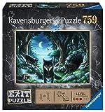Ravensburger Puzzle 15028 - Wolfsgeschichten 759 Teile Exit Puzzle - Premium Qualität für EXIT- begeisterte ab 12 Jahren