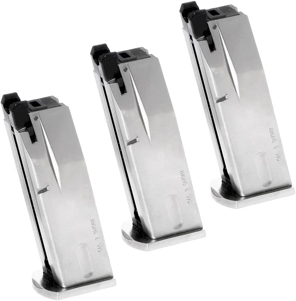 Airsoft Parts 70% OFF Outlet WE WE-TECH 3pcs A surprise price is realized 16rd M84 Gas Magazine for S92