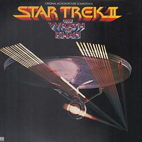 STAR TREK II THE WRATH OF KHAN / DER ZORN DES KHAN (Vinyl LP Record)