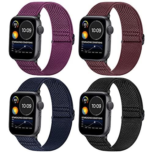 WNIPH compatibile con Cinturino Apple Watch SE serie 6 5 4 3 2 1, Traspirante Cinturino di Ricambio Sportivo Traspirante per iWatch 38mm 40mm 42mm 44mm