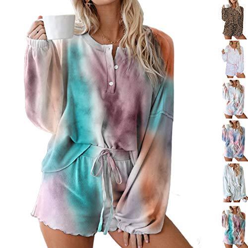 Snaked gato Home Wear Set, Mujeres Pijamas Pantalones Cortos Conjunto