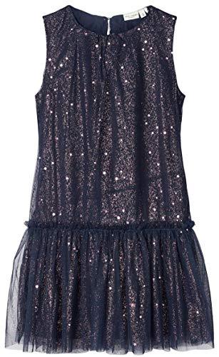 NAME IT Mädchen Festliches Kleid nkfVERNY (164, Dark Sapphire)