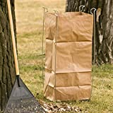Bag Buddy Bag Holder - Versatile Metal Support Stand for 55 Gallon Plastic and Paper Contractor Bags - Use for Leaves, Yard Work, Laundry, Trash and More - 23' h