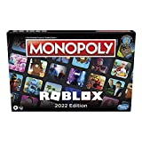 Hasbro Gaming Monopoly: Roblox 2022 Edition Game, Monopoly Board Game Collect and Trade Popular Roblox Experiences