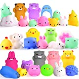 Mochi Squishy Toys FLY2SKY 30Pcs Animal Squishies Party Favors for Kids Stress Relief Toys...